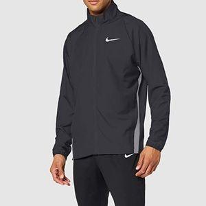 Nike Men's Dry Team Woven Full-Zip Black Jacket M